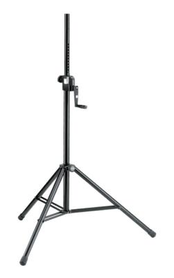 K&M-21300-009-15 Speaker stand draagt tot 50 kg.