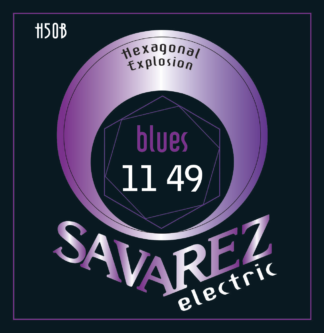SAV-H50B Electriswche snaren set Hexagonal Explosion Bluesy 011-049