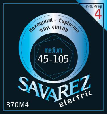 SAV-B70M4 Electrische bas snaren hexagonal explosion medium