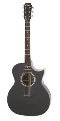 ARIA-205CE/BK Acoustic guitar met pick-up , cut away