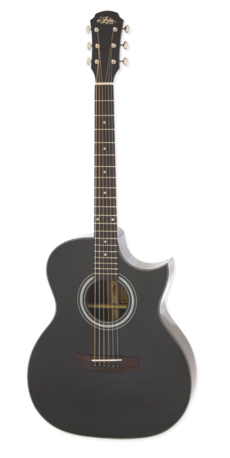 ARIA-205CE/BK Acoustic guitar met pick-up , cut away