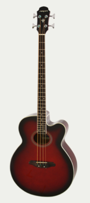 ARIA-FEB30M/RS Elecord acoustic/electric bass gitaar