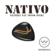 Wambooka Nativo handmade pics Black Horn