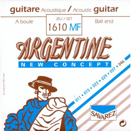 SAV-1610MF String set for gypsy guitar ball ends