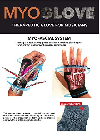 WB-MYOGLOVE1 Therapeitic hand gloves for musicians