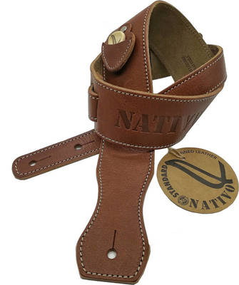 NATIVO Genuine leather guitar strap