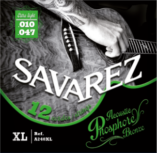 SAV-A240XL 12 string acoustic set