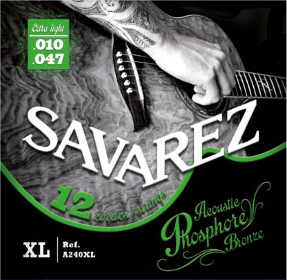 SAV-A240XL 12 string acoustic set